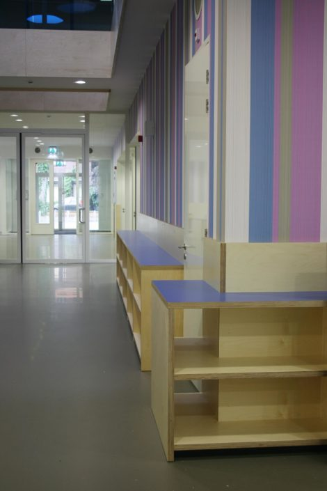 Inrichting van Montessorischool Waalsdorp